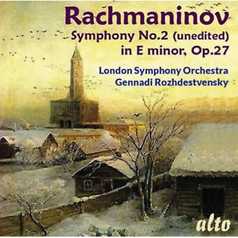 Rachmaninov Symphony No. 2 in E Minor (unedited) by Rozhdestvensky