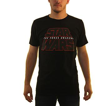 Star Wars The Force ontwaakt mannen zwart T-shirt