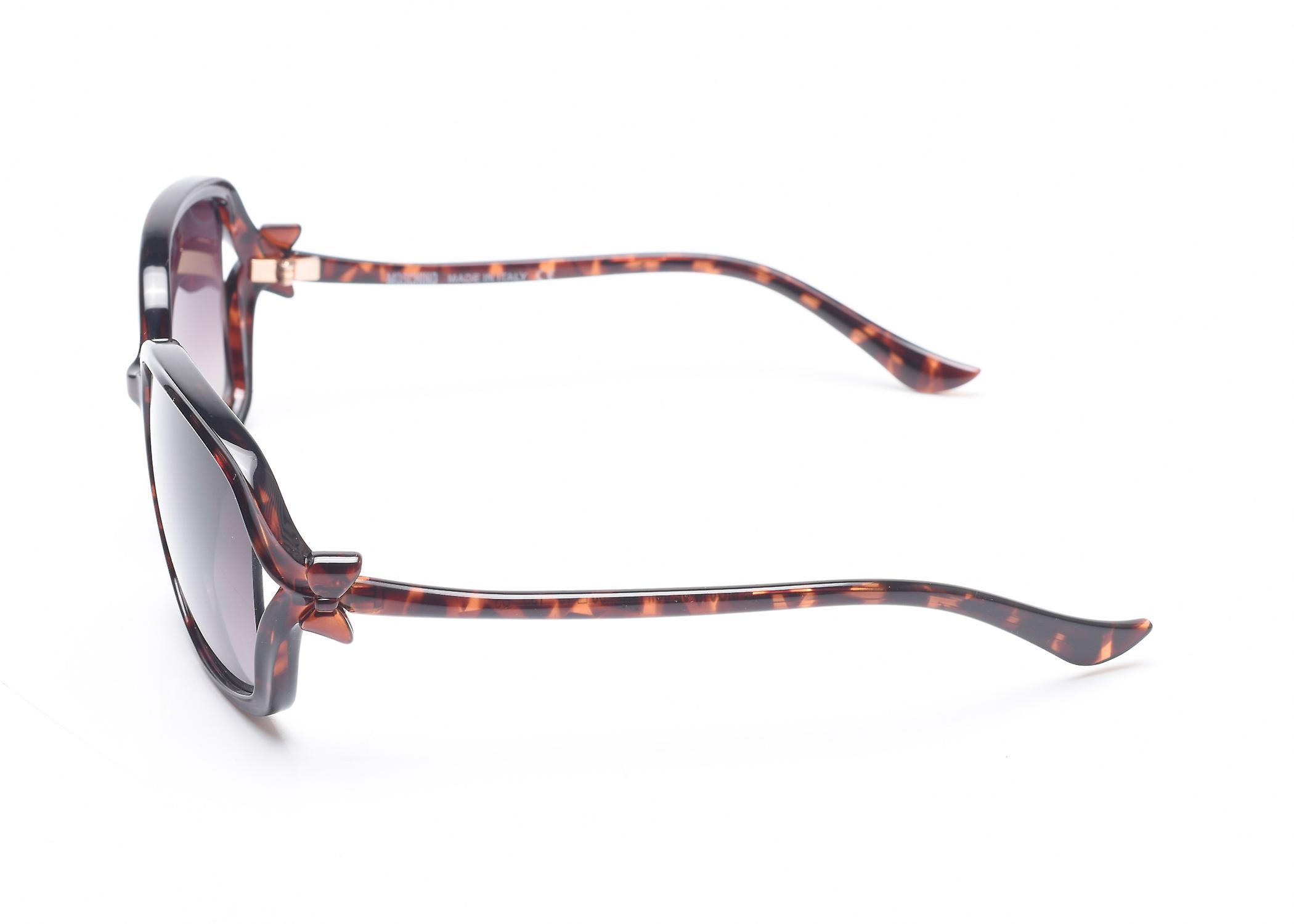 Moschino Women's  Bow Detailed Oversized Sunglasses Tortoise
