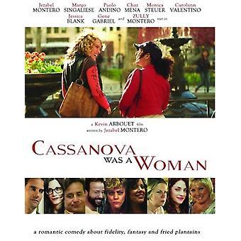 Cassanova var en kvinde [DVD] USA importerer