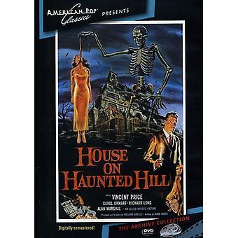 Hus på Haunted Hill (1959) [DVD] USA import