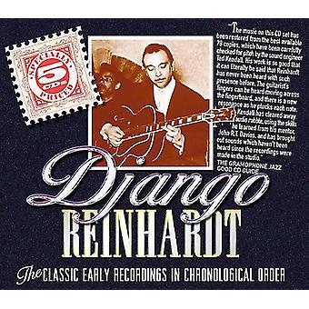 Django Reinhardt - klassiske tidlige indspilninger i Ch [CD] USA import