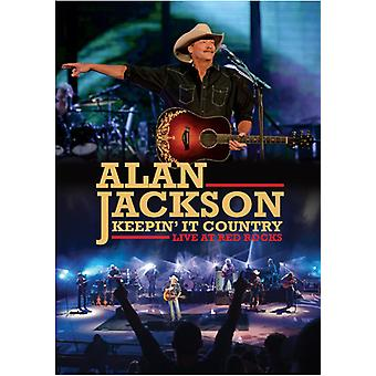 Alan Jackson - Keepin il pays : Live at Red Rocks [DVD] USA import