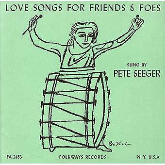 Pete Seeger - Love Songs for Friends & Foes [CD] USA import