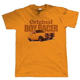 Mk1 Escort, Original Boy Racer, Mens Auto T Shirt