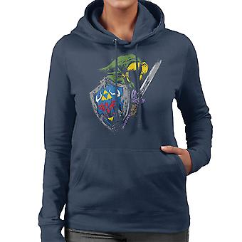 Zelda Hyrule Warrior Women's Hooded Sweatshirt