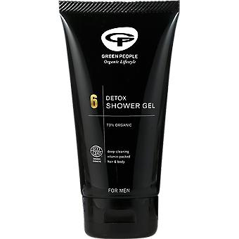 Green People 6 Detox Shower Gel