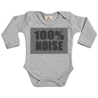 Spoilt Rotten 100% Noise Baby Long Sleeve Organic Baby Grow