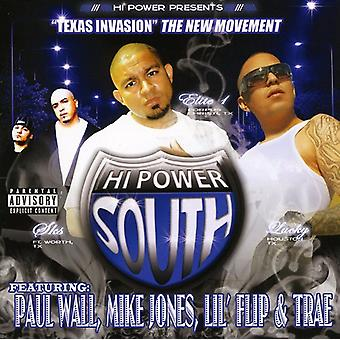 Hej magt syd: Texas Invasion - Hi Power syd: Texas Invasion [CD] USA import