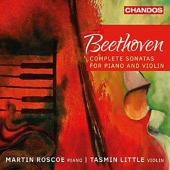 Beethoven / Little / Roscoe - Beethoven: Complete vioolsonates [CD] USA import
