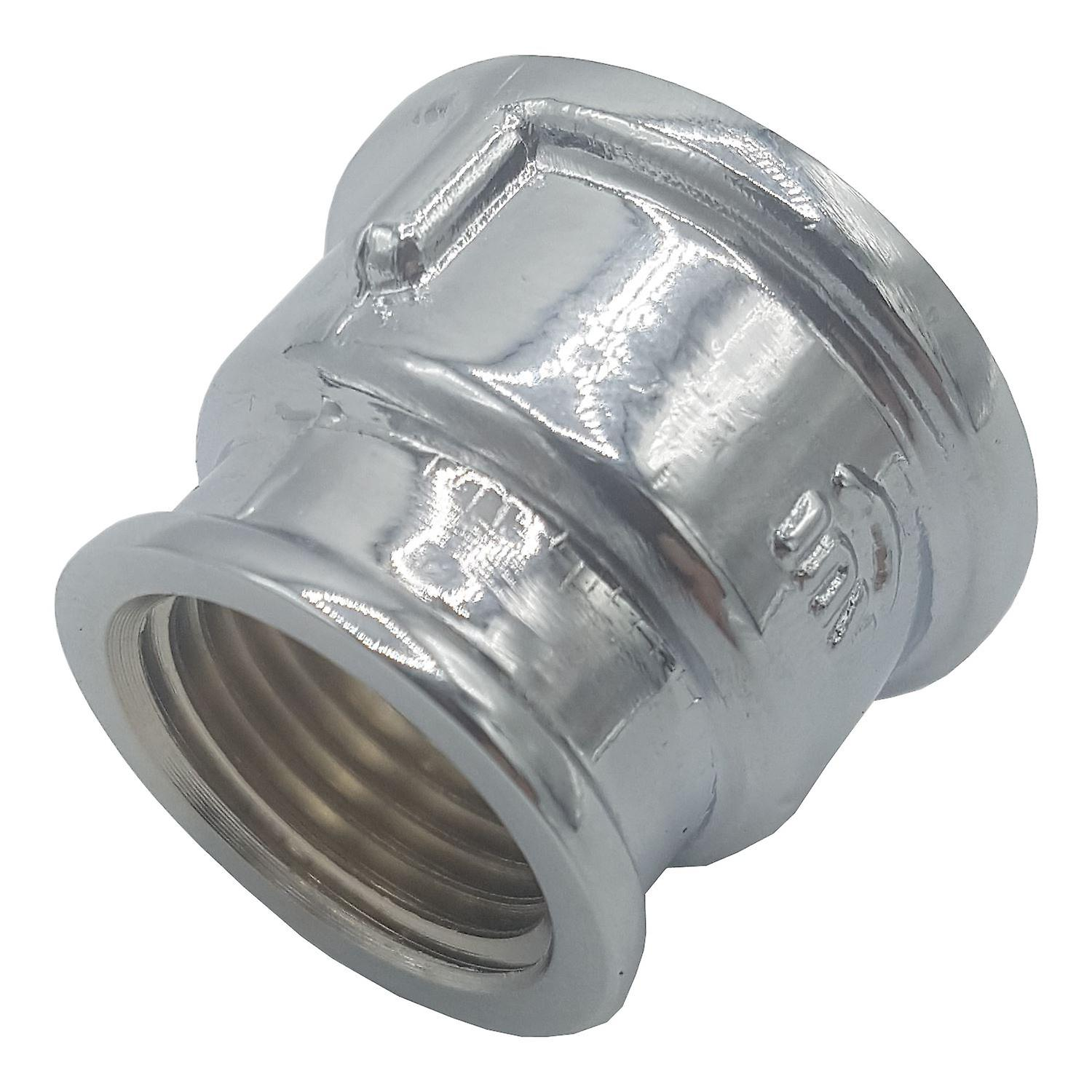 Pipe connection  female fittings muff chrome 1/2