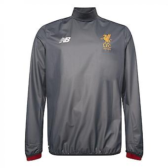 2017-2018 Liverpool Training Drill Top (Thunder) - No Sponsor