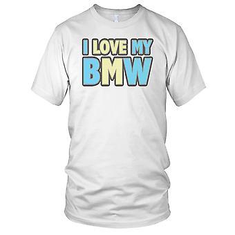 Jeg elsker min BMW klassiske bilen barn T skjorte