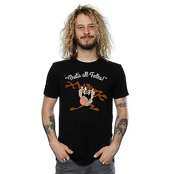 Looney Tunes Men's Taz That's All Folks T-Shirt