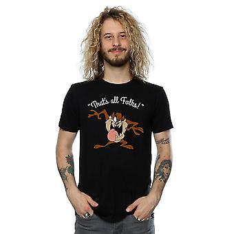 Looney Tunes mannen Taz thats alle mensen T-Shirt