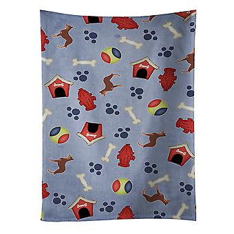 Australian Kelpie Dog Dog House Collection Kitchen Towel