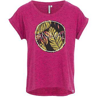 Tierische Tropic Kreis Kurzarm T-Shirt