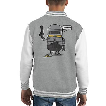Minions Despicable Law Enforcer RoboCop Kid's Varsity Jacket