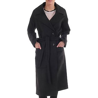 J Lindeberg Agnes Double Breasted Coat With Belt