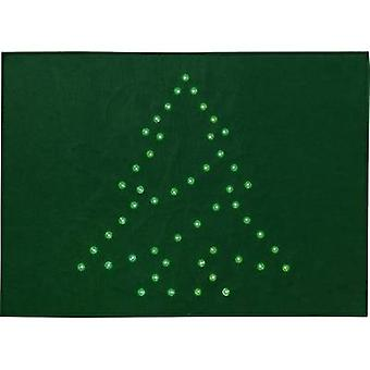 LED decorative lighting Christmas Tree (doormat) Green LED Polarlite PDE-05-002 Green