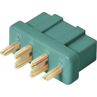 Battery receptacle MPX Gold-plated 1 pc(s) Modelcraft