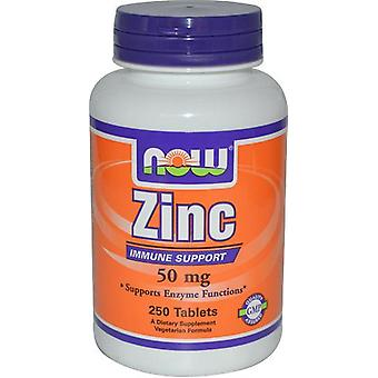 Now Foods Zinc 50Mg 250 Tablets (Sport , Athlete's health , Minerals)