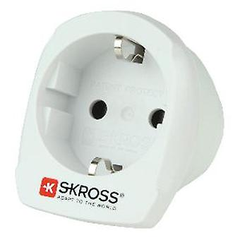 Skross European Travel Adapter für Australien Blister Weiß