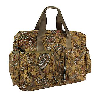Paisley marron luxe polochon Style sac à couches