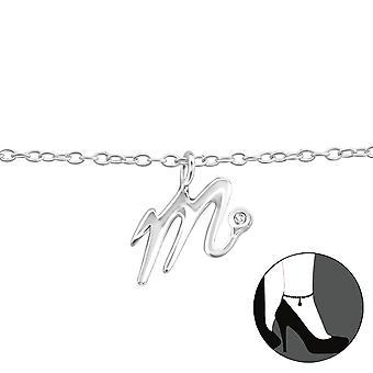 «m» - bracelets de cheville en argent Sterling 925 - W36611X
