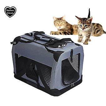 Valentina Valentti Pet Canvas Carrier Soft Travel Crate
