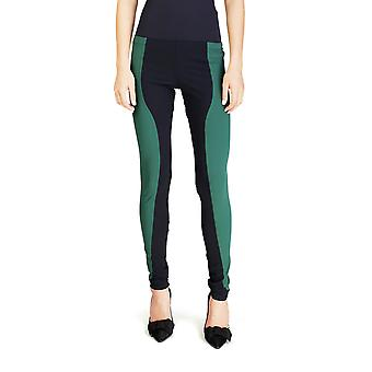 Miu Miu Women's Nylon Elastane Blend Legging Pants Two Tone