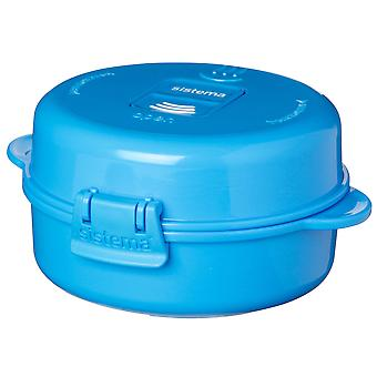 Sistema Microwave Easy Eggs To Go, Blue