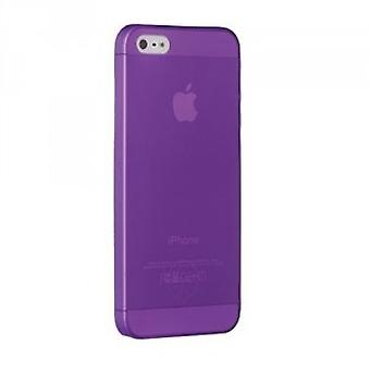 Ozaki OC533PU O! Coat jelly slim 0.3 mm cover case iPhone SE 5 / 5S purple
