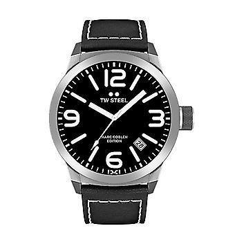 TW stål mens klocka Marc Coblen Edition TWMC1 wrist watch läderarmband