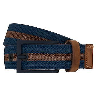 LLOYD Men's belt belts men's belts belt Royal Blue 6900