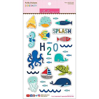 Secrets Of The Sea - Boy Puffy Stickers-Icons