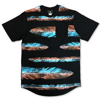 LRG War Feather Scoop Knit T-shirt Black