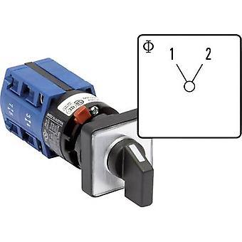 Kraus & Naimer CG4 A220-600 FS2 Isolator switch 10 A 1 x 60 ° Grey, Black 1 pc(s)