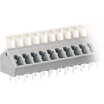 WAGO fjäderbelastade terminal 2.50 mm² antal pins 3 grå 1 dator