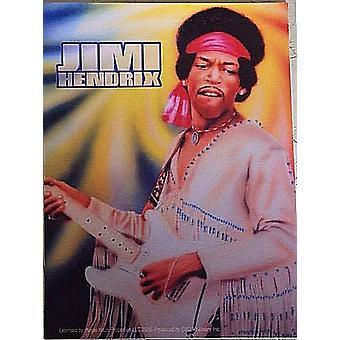 Jimi Hendrix Vinyl mærkat 130 Mm X 100 Mm