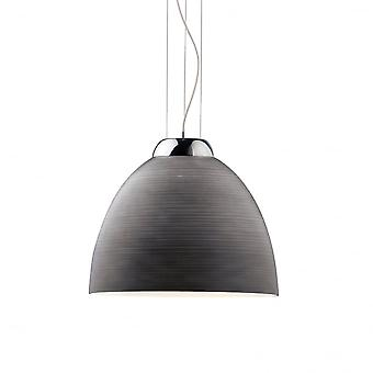 Ideal Lux Tolomeo Single Pendant Light D40 Grey