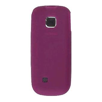 Wireless Solutions Premium Silicone Gel Case for Nokia 2330 (Raspberry)