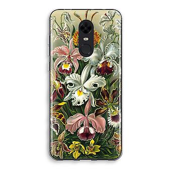 Xiaomi Redmi 5 Transparent Case (Soft) - Haeckel Orchidae