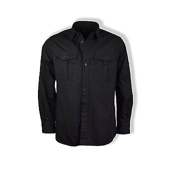 Fred Perry Utility Overshirt (Black)