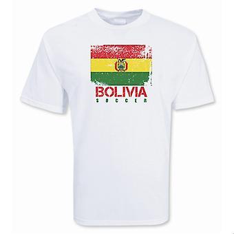 Bolivia Soccer t-skjorte
