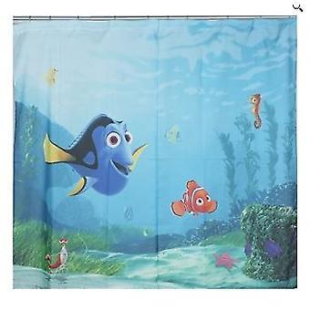 Disney Nemo para zasłony do sypialni taca centymetr 180 x 160 cm