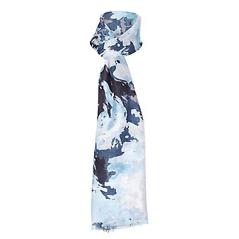 Abstract Rose Printed Scarf