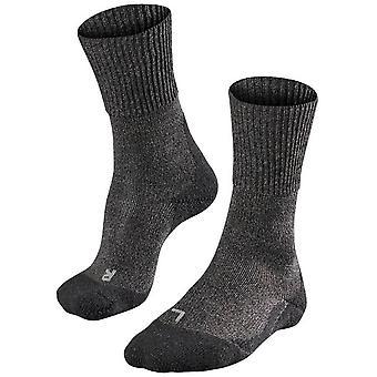 Falke Trekking 1 Strong Wool Socks - Smog Grey