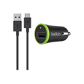 Belkin Car Charger 2.1 A With USB-C To Usb-A Cable 1, 8 m