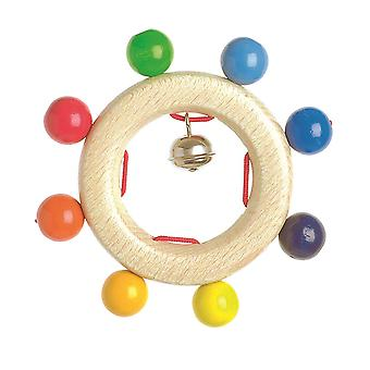 Heimess Touch Ring Rattle Rainbow Beads